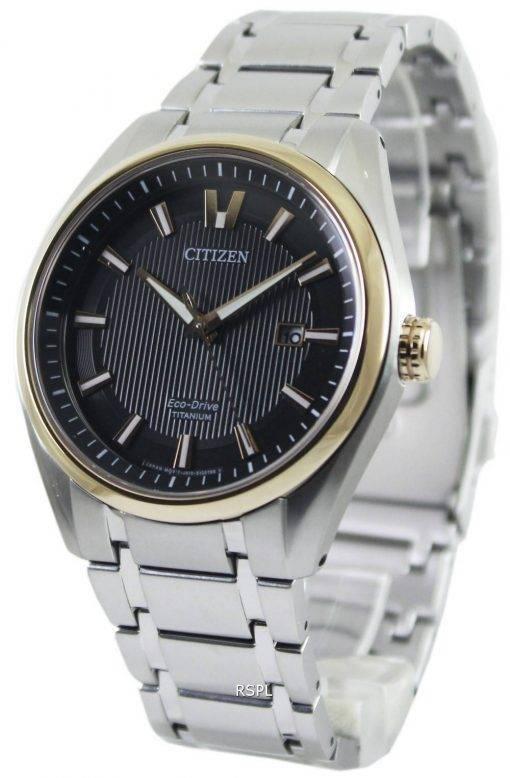 Citizen Eco-Drive Titanium AW1244-56E Mens Watch