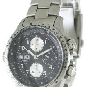 Hamilton Automatic Khaki X-Wind Chronograph H77616133 Mens Watch