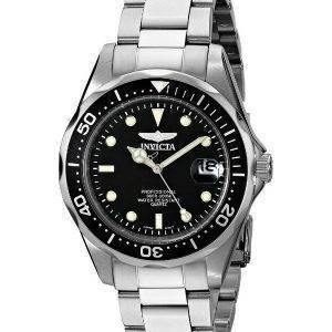 Invicta Pro Diver 200M Quartz Black Dial INV8932/8932 Mens Watch