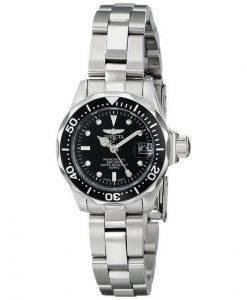 Invicta Pro Divers 200M Quartz Black Dial INV8939/8939 Womens Watch
