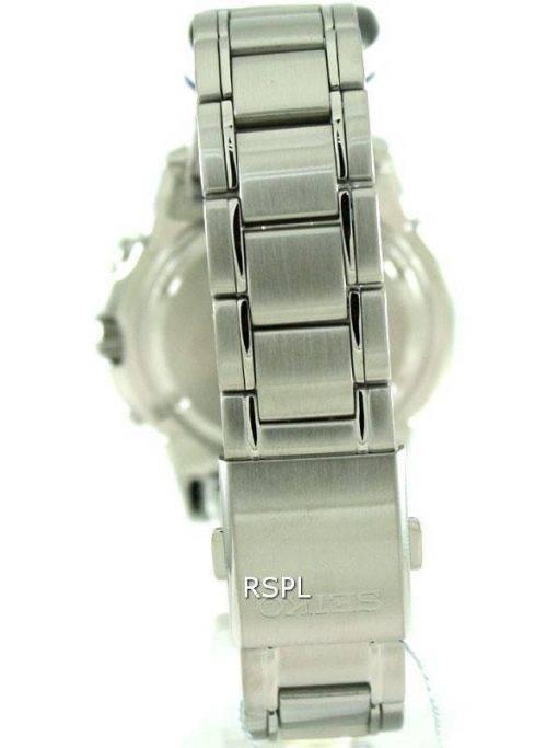 Seiko Solar Alarm Chronograph SSC085P1 SSC085 SSC085P Mens Watch