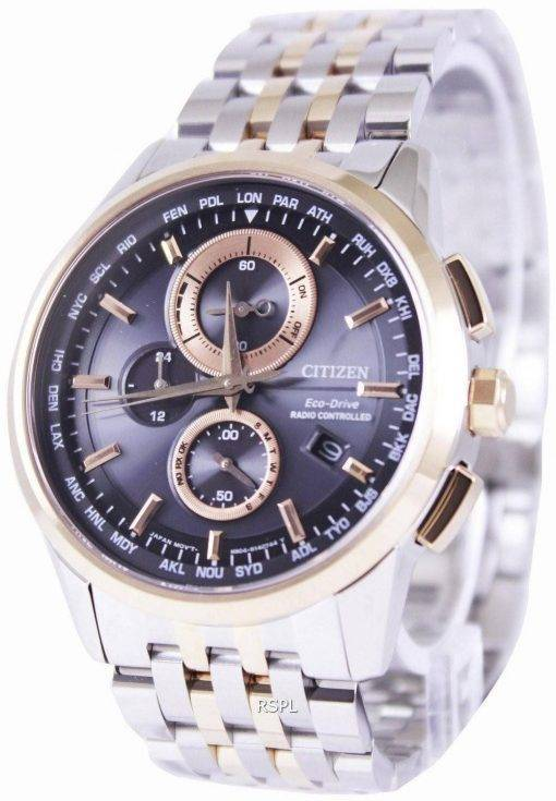 Citizen Eco-Drive Radio Controlled World Time AT8116-65E Mens Watch
