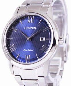 Citizen Eco-Drive Blue Dial AW1231-58L Mens Watch