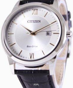 Citizen Eco-Drive Silver Dial AW1236-11A Mens Watch