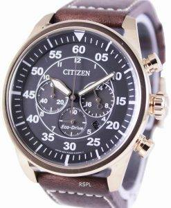 Citizen Eco-Drive Aviator Chronograph CA4213-00E Mens Watch