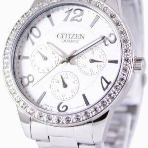 Citizen Quartz Swarovski Crystals ED8120-54A Womens Watch