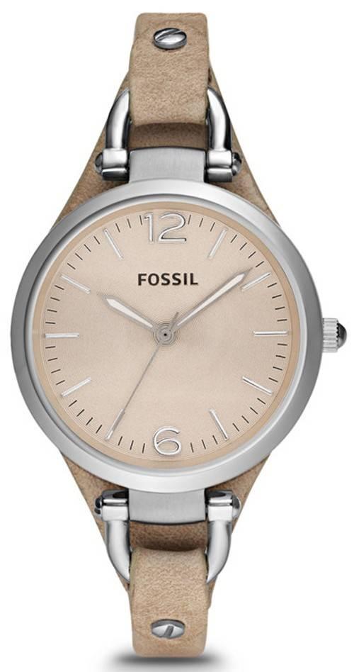 Fossil Georgia Sand Leather ES2830 Womens Watch