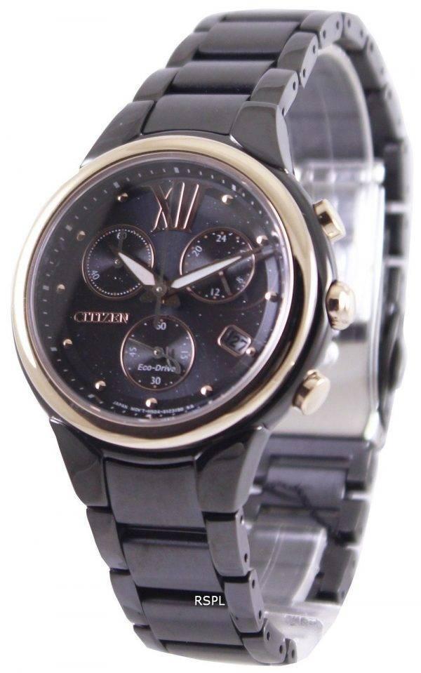 Citizen Eco-Drive Chronograph FB1317-53E Womens Watch
