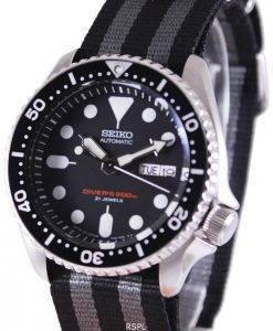 Seiko Automatic Diver's NATO Strap 200M SKX007J1-var-NATO1 Mens Watch