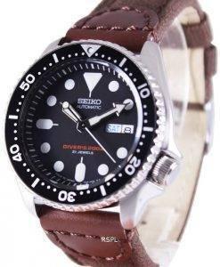 Seiko Automatic Diver's Canvas Strap SKX007J1-var-NS1 200M Mens Watch