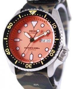 Seiko Automatic Divers 200M Army NATO Strap SKX011J1-NATO5 Mens Watch