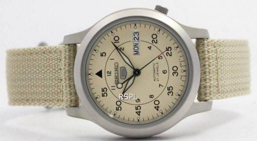Seiko 5 Military Automatic Nylon Strap Mens Watch SNK803K2 SNK803K SNK803