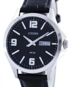 Citizen Quartz Black Dial BF2001-04E Mens Watch