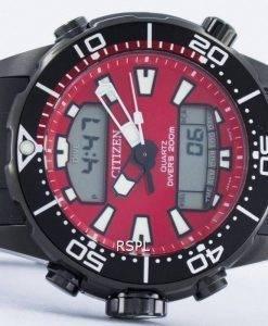 Citizen Aqualand Promaster Divers 200M Analog Digital JP1095-15X Mens Watch