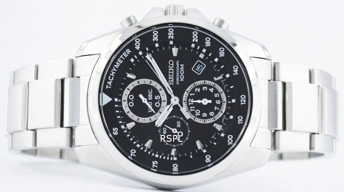 Chronograph Sndd63 Sndd63p Herrenuhr Seiko Quarz Tachymeter Sndd63p1 mOvw0N8n