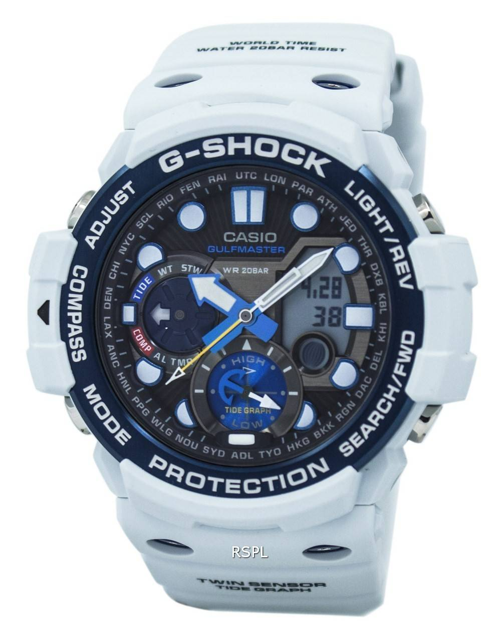 Casio G Shock Gulfmaster Twin Sensor Gn 1000c 8a Herrenuhr Ga 1000 1adr Gravity Master