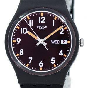 Swatch Originals Sir Red GB753 Unisex Quarzuhr