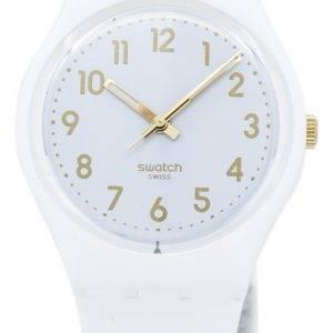 Swatch Originals weiße Bischof Quarz GW164 Unisex-Uhr