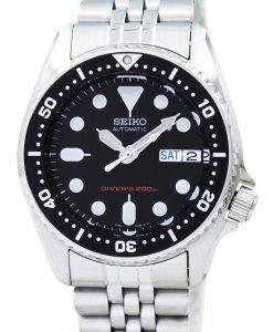 Seiko Divers automatische 200 m 21 Jewels kleine SKX013K2 SKX013
