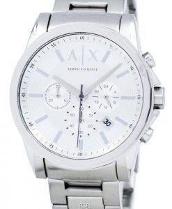 Armani Exchange Chronograph Silber-Ton-Dial AX2058 Herrenuhr