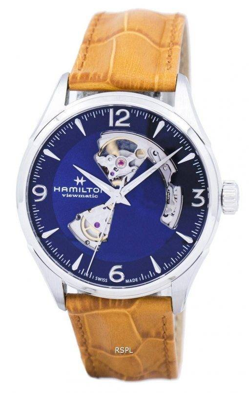 Hamilton Jazzmaster Viewmatic Open Heart automatische H32705541 Herrenuhr
