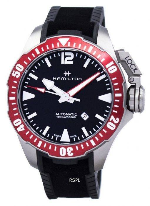Hamilton Khaki Navy Frogman automatische H77805335 Herrenuhr