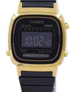 Casio Vintage Wecker Digital LA670WEGB-1 b Damenuhr