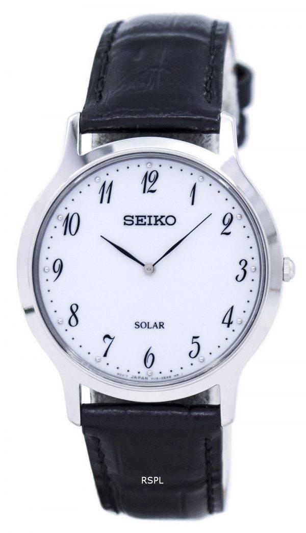 Seiko Solar SUP863 SUP863P1 SUP863P Herrenuhr