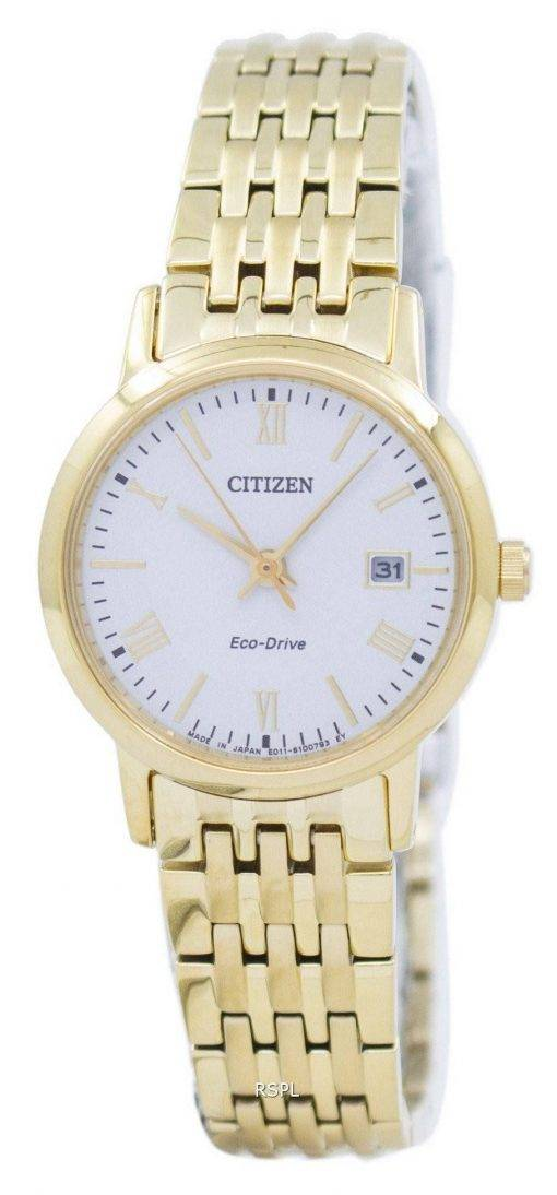Citizen Eco-Drive Analog EW1582-54A Damenuhr