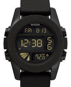 Nixon Einheit Dual Time Alarm digitaler A197-000-00 Herrenuhr