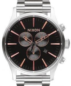 Nixon Sentry Chrono Quarz A386-2064-00 Herrenuhr