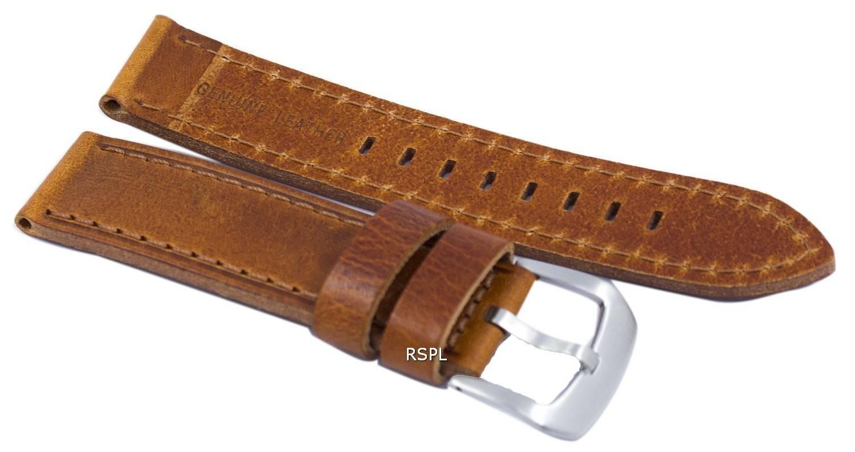 Braun Verh 228 Ltnis Marke Lederband 22mm F 252 R Skx007 Skx009 Skx011 Snzg07 Snzg015 Uhrstadt De