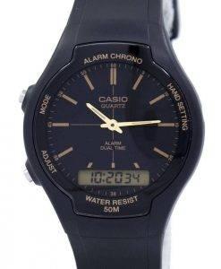 Casio Alarm Chrono Dual Time Quarz AW-90H-9EVDF AW90H-9EVDF Herrenuhr