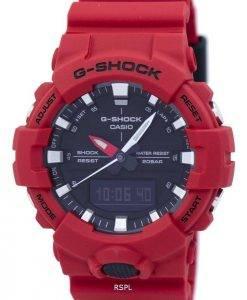 Casio G-Shock Shock Resistant Analog Digital GA-800-4ADR GA800-4ADR Herrenuhr
