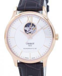 Tissot T-Classic Tradition offenes Herz automatische T063.907.36.038.00 T0639073603800 Herrenuhr