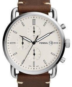 Herrenuhr Fossil Pendler Chronograph Quarz FS5402