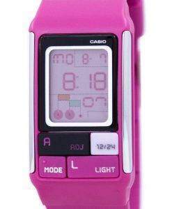 Casio Poptone Dual Time Alarm digitaler LDF-52-4A-LDF52-4A Damenuhr