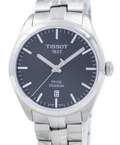 Tissot T-Classic PR 100 Titan Quarz T101.410.44.061.00 T1014104406100 Herrenuhr
