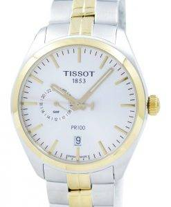 Tissot T-Classic PR 100 Dual Time Quarz T101.452.22.031.00 T1014522203100 Herrenuhr