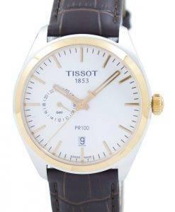 Tissot T-Classic PR 100 Dual Time Quarz T101.452.26.031.00 T1014522603100 Herrenuhr