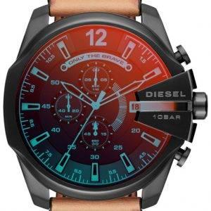 Diesel Zeitrahmen Mega Chief Chronograph Quarz DZ4476 Herrenuhr