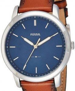 Fossil die minimalistische 3H Slim Herrenuhr Quarz FS5304