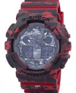 Casio G-Shock Camouflage Serie Analog Digital GA-100CM-4A Herrenuhr