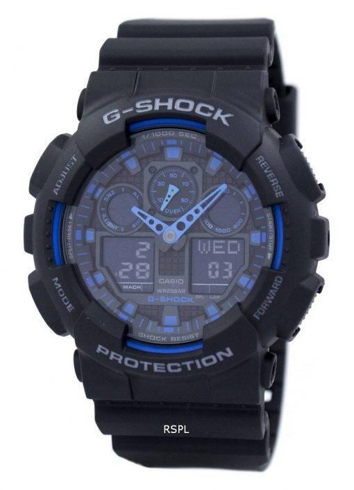 GA-100-Uhren von Casio G-Shock Welt Zeit Alarm-GA-100-1A2