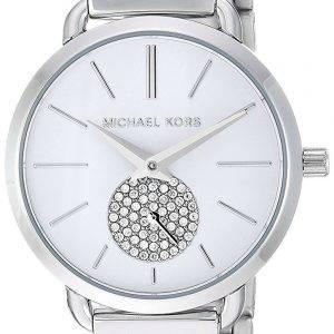Michael Kors Petite Portia Quarz Diamant Akzent MK3837 Damenuhr