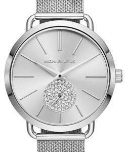 Michael Kors Portia Quarz Diamant Akzent MK3843 Damenuhr