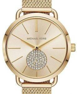 Michael Kors Portia Quarz Diamant Akzent MK3844 Damenuhr