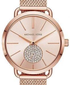 Michael Kors Portia Quarz Diamant Akzent MK3845 Damenuhr