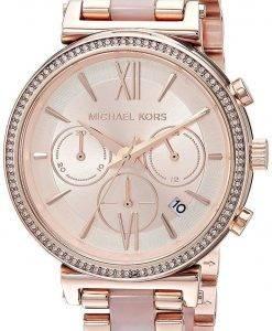 Michael Kors Sofie Chronograph Quarz Diamant Akzent MK6560 Damenuhr