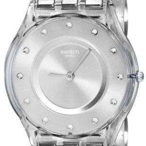 Swatch Skin Classic Silber Schublade Quarz SFK393G Damenuhr